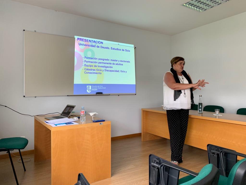 Universidad de Aveiro recibe investigadora Aurora Madariaga Ortuzar.