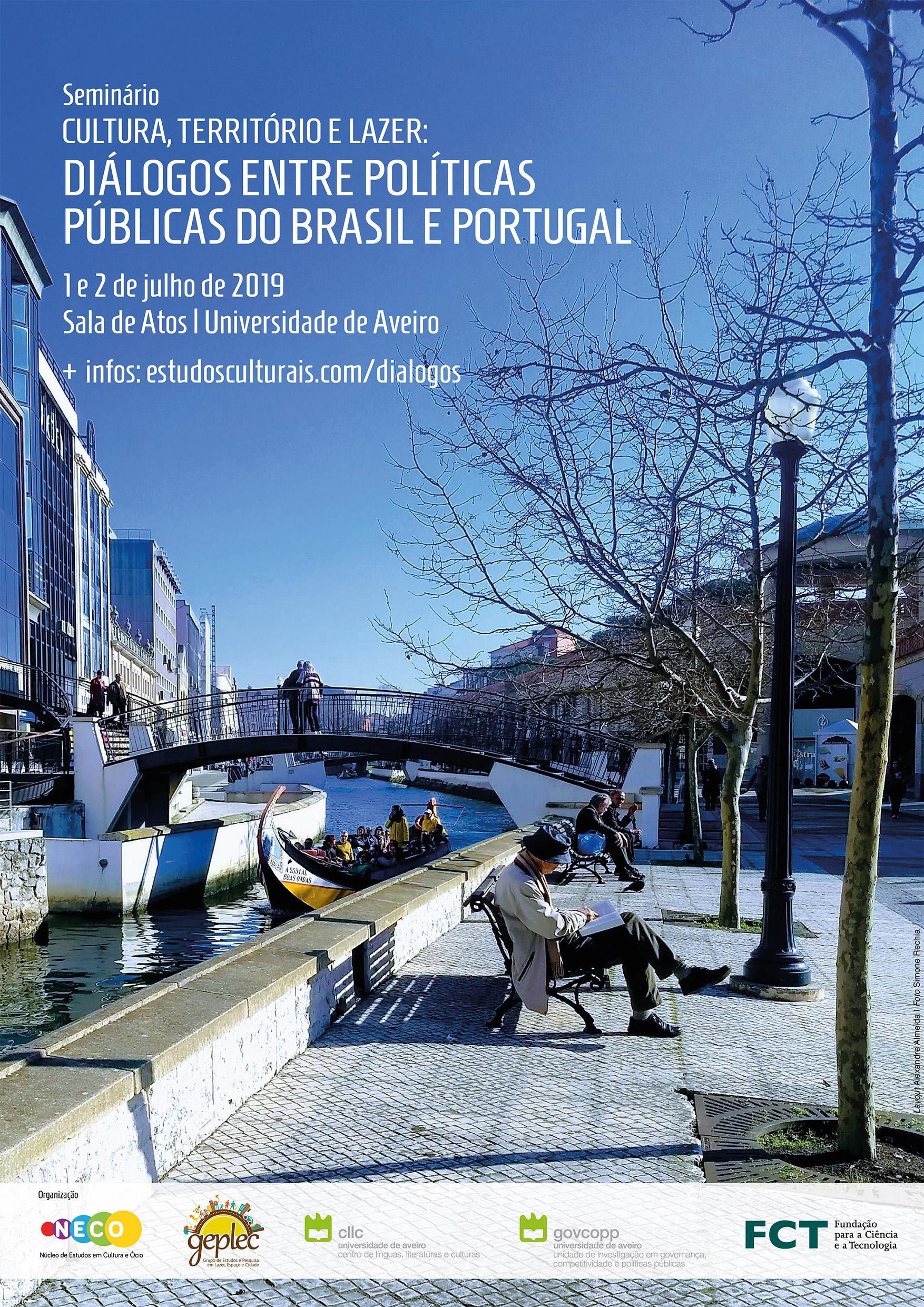 Seminario discute la relación entre Cultura, Territorio y Ocio en la Universidad de Aveiro / PT.